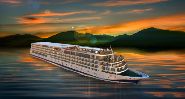 Century Paragon, the top luxury cruise!