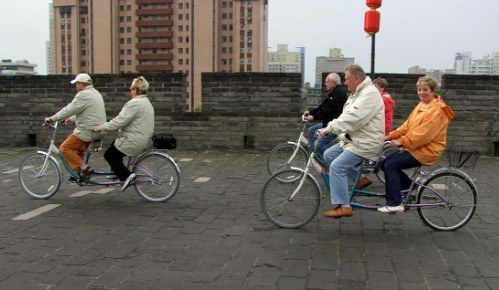 Go Cycling on Ancient City Wall