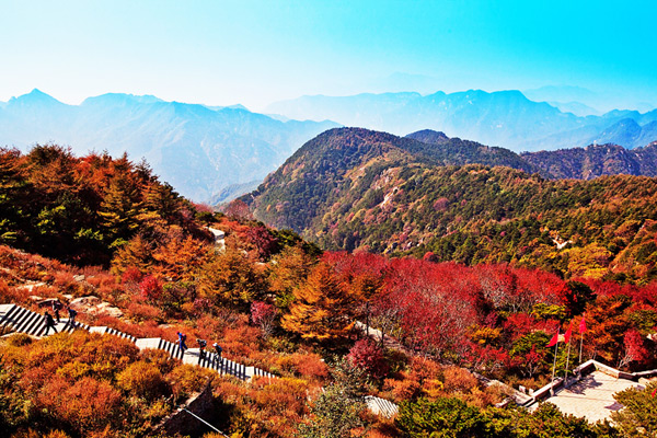 Taishan Mountain in Autumn