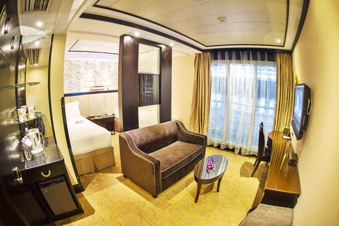 Cabin of Victoria Cruises