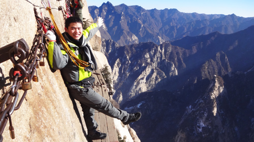Wonder Climb Mount Hua