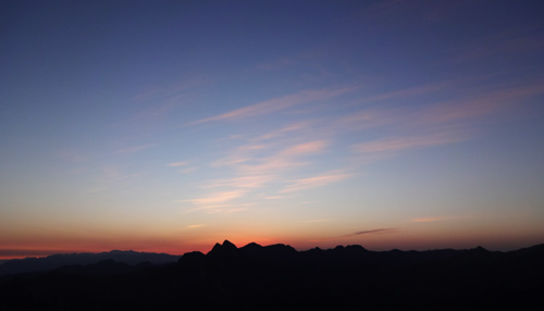 Mount Hua Sunrise