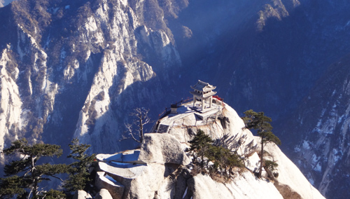 Mount Hua Beautiful Scenery