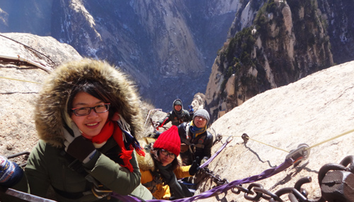 Mount Hua Travelers