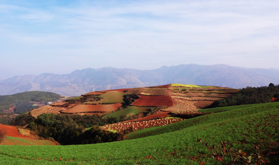 Travel with Wonder: Dongchuan Red Land Photography Experience
