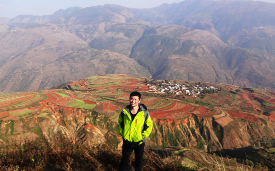 Dongchuan Red Land Sunset
