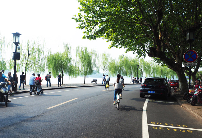 Hangzhou West Lake Cycling