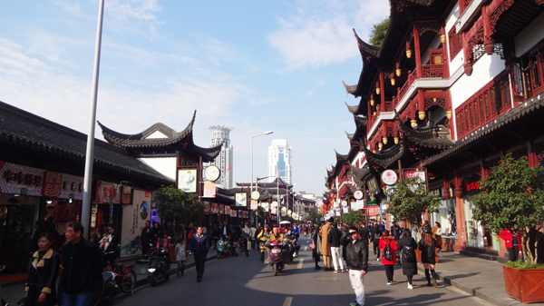 Temple of God in Shanghai
