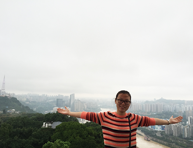 China Discovery's Travel Expert Vivien visited Chongqing City