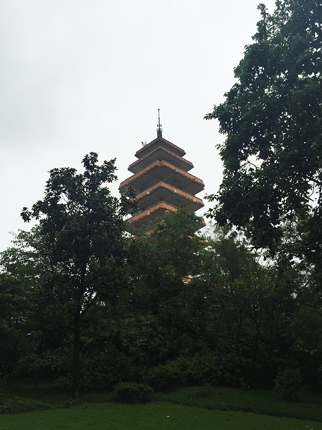 Our Travel Consultant visited Eling Park in Chongqing