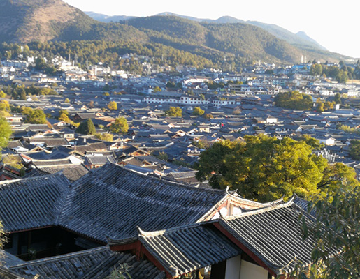 Daytime in Lijiang Old Town