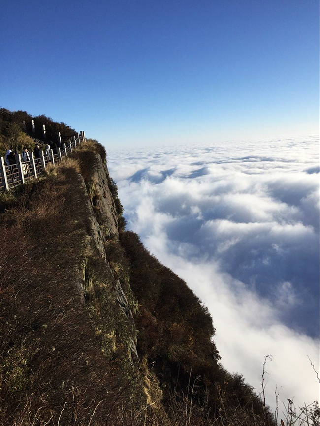 Amazing Sea of Clouds of Mount Emei