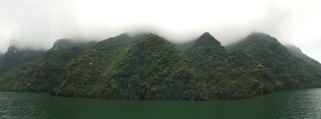 Landscapes Along Yangtze River