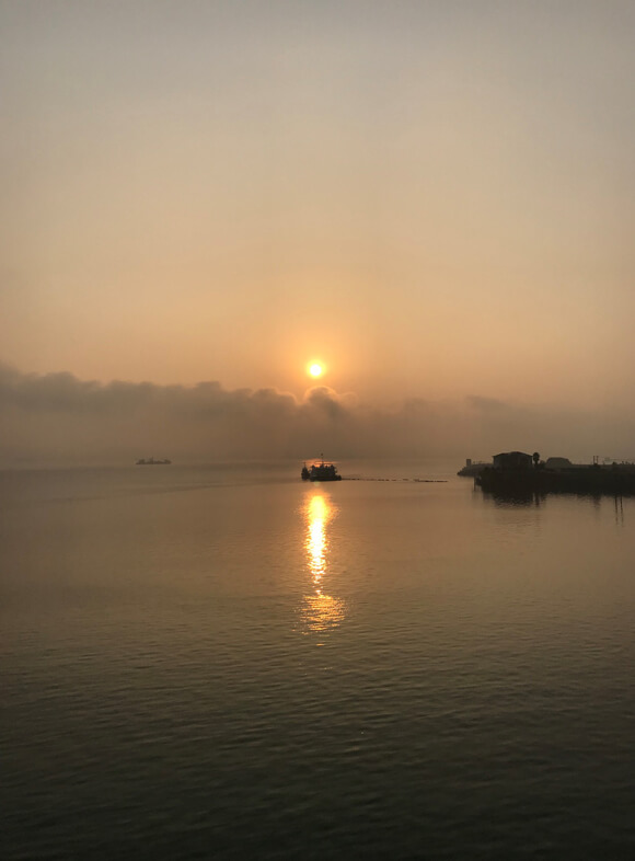 Yangtze River Sunrise