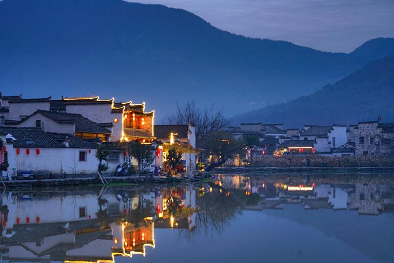 Hongcun Night View