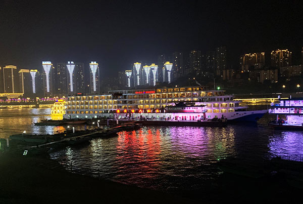 Yangtze River Cruise Trip on Century Diamond Downstream from Chongqing to Yichang (Jan 11 to 14, 2019)
