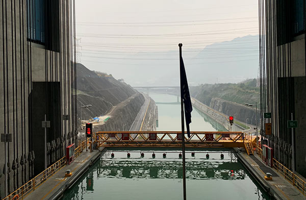 Option Visit to Three Gorges Dam Ship Lift